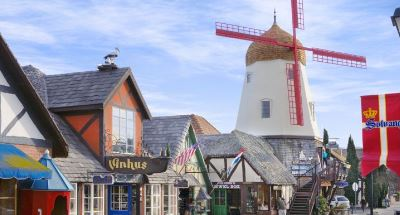2 solvang a holiday stroll through this european village will fill you with cheer and delight take the holiday trolley ride through town or walk the