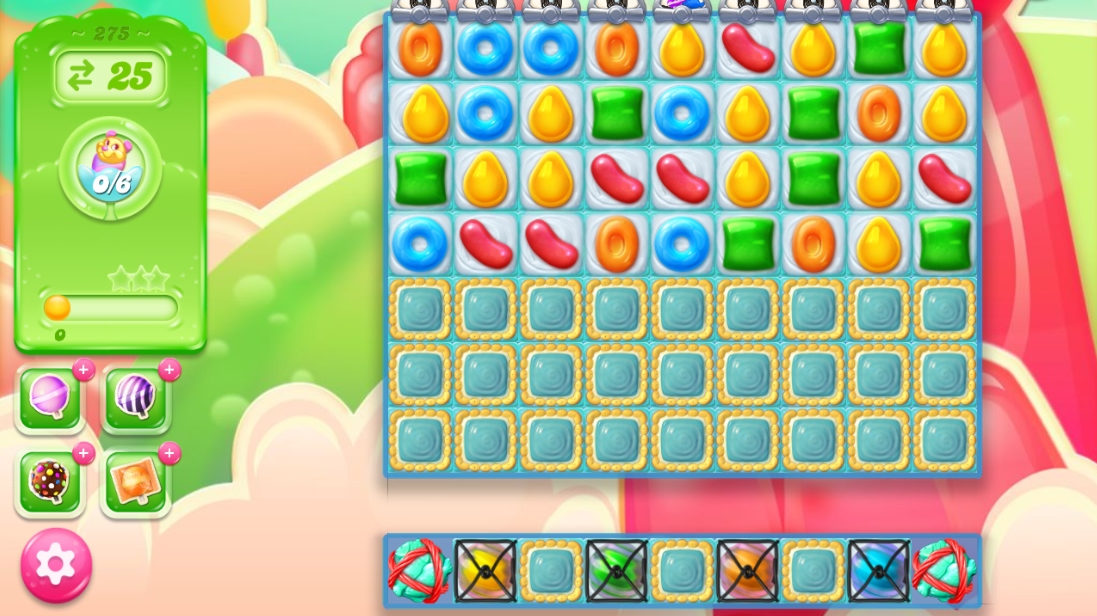 Candy Crush Jelly Saga saga 275