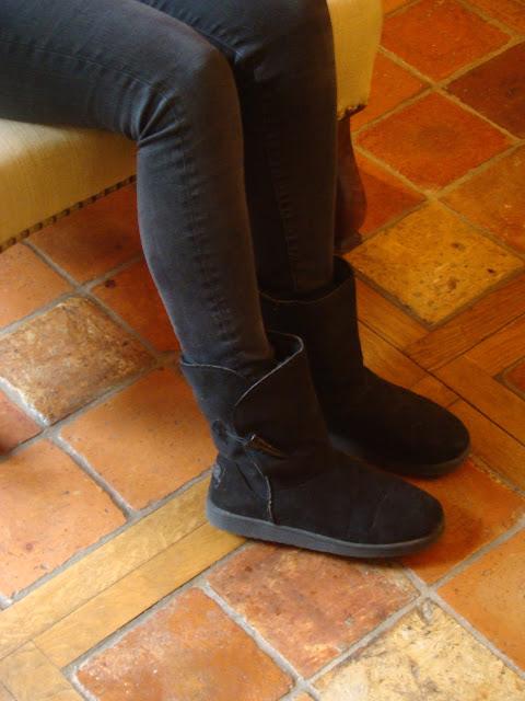 Look Mode Automne Pull Des Petits Hauts et boots Eram