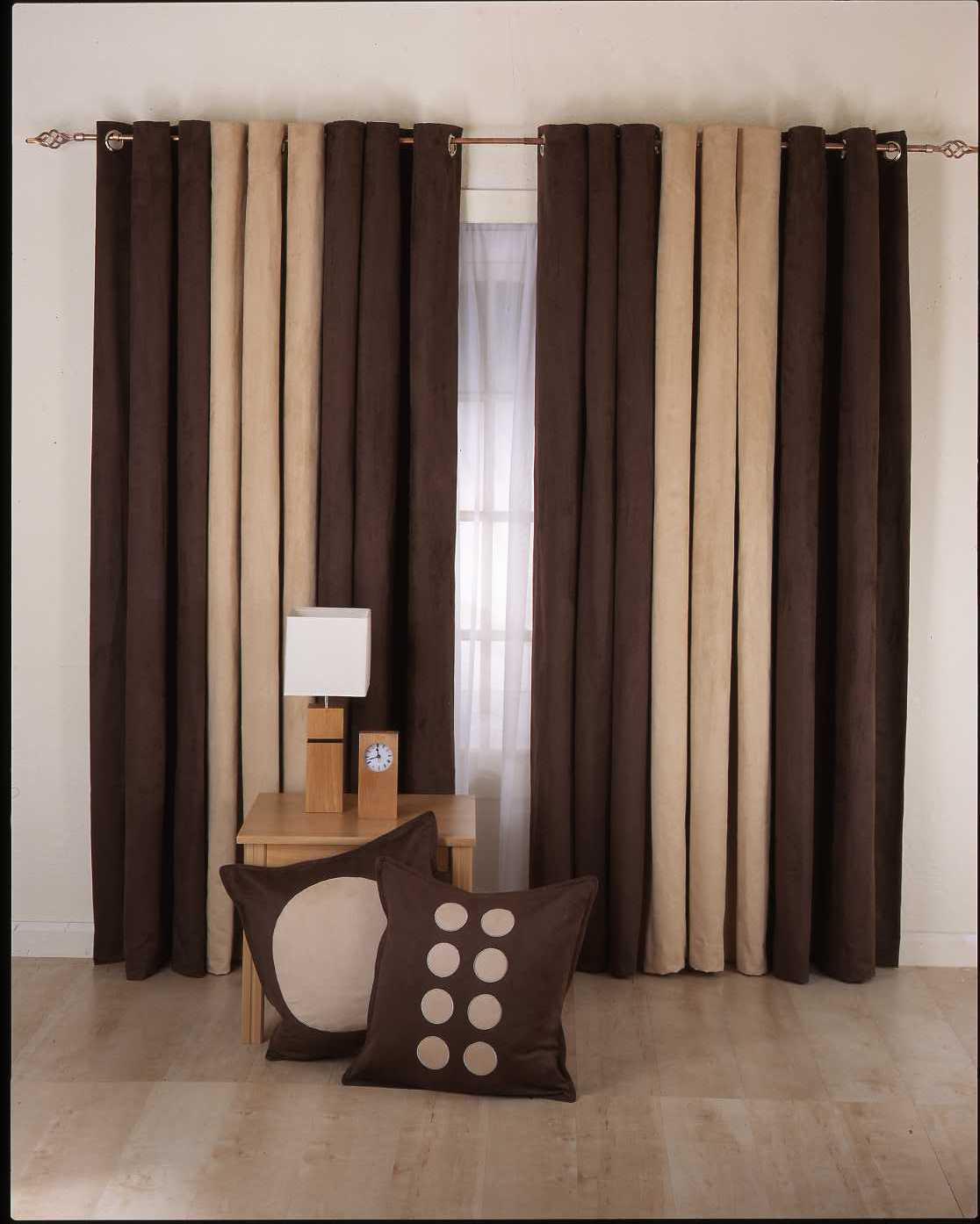 Modern House: Ideas For Simple Curtains 2011