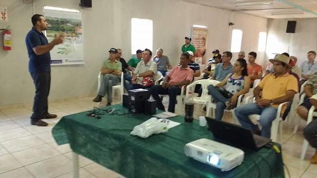 Ubiratã – Reunião divulga produção de biogás em pequenas propriedades
