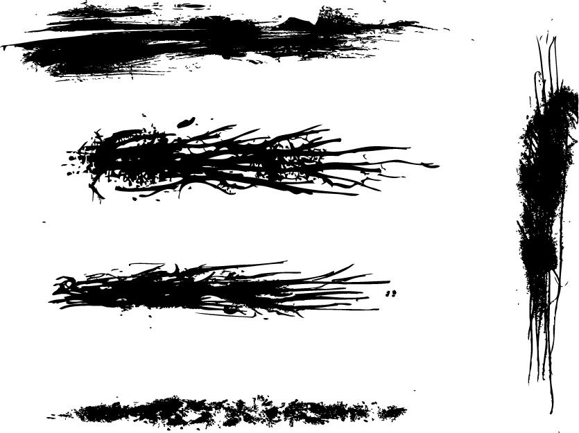 Summary -> Sketch Grunge Brushes Wegraphics