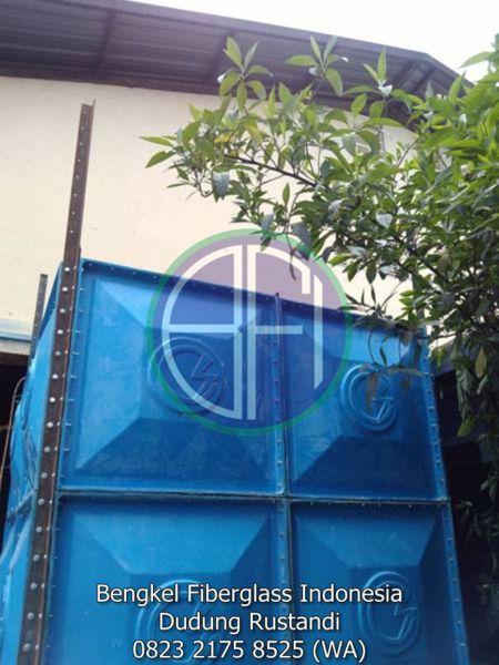 tangki air fiber kotak