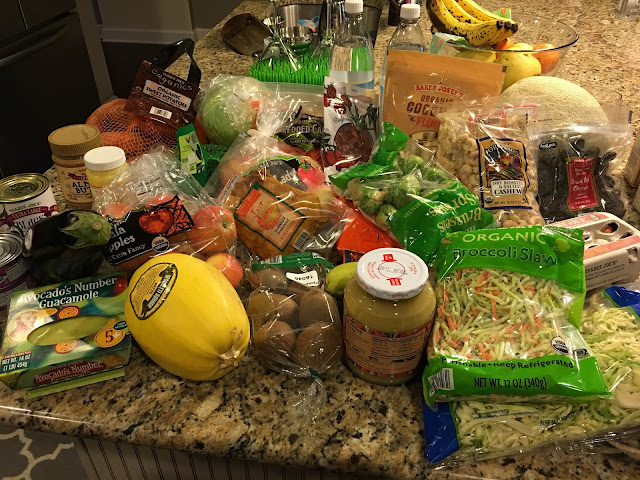 Whole 30 shopping Trader Joes