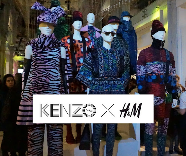 H&M Kenzo collection launching party
