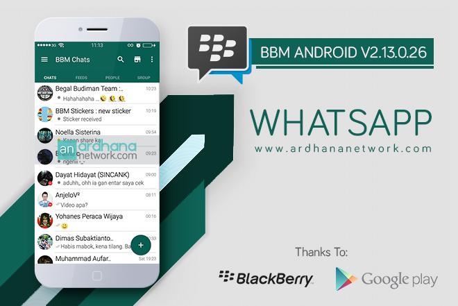 BBM Whatsapp V2.13.0.26