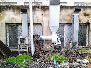 Modern Machinery,Tree Graveyard, Yambol,