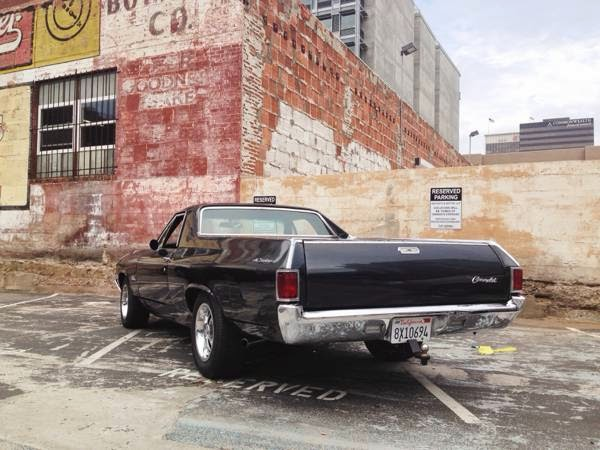 Chevy El Camino Rear