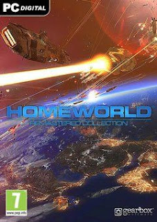 غلاف لعبة Homeworld Remastered Collection
