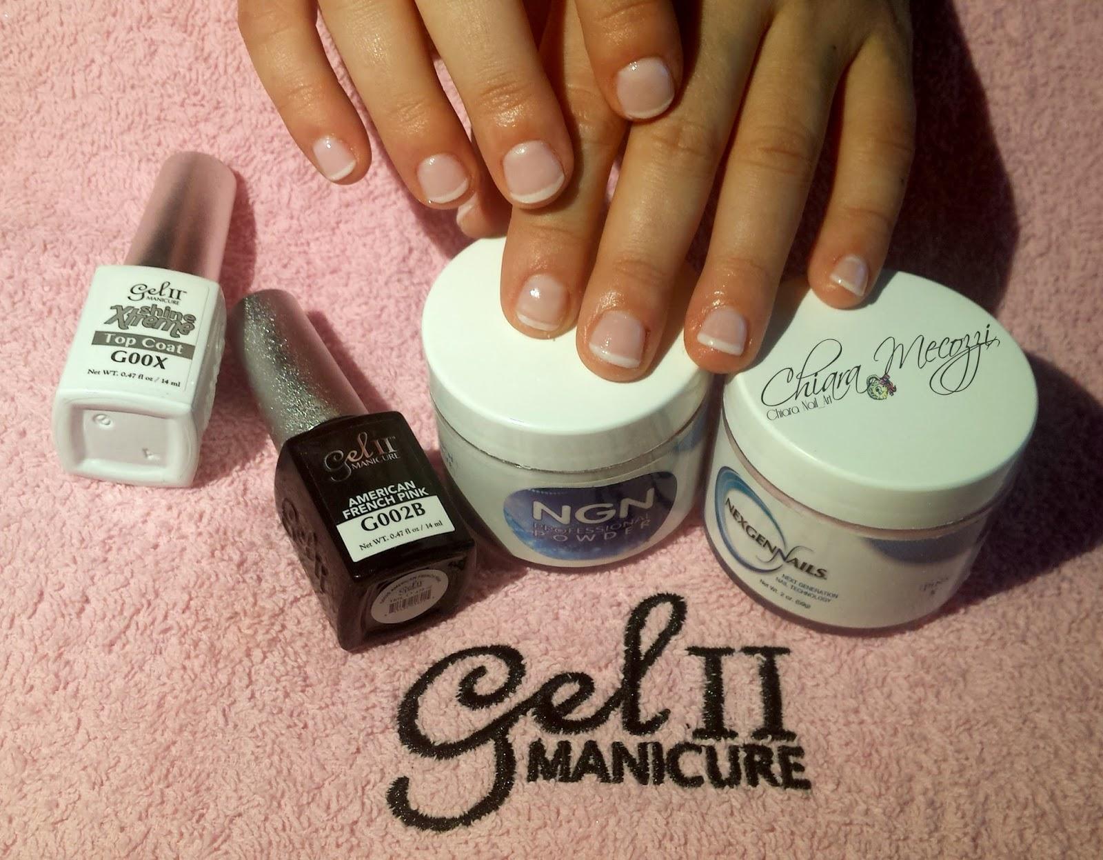 La French su unghie cortissime non è più un problema..con la polvere magica  NGN