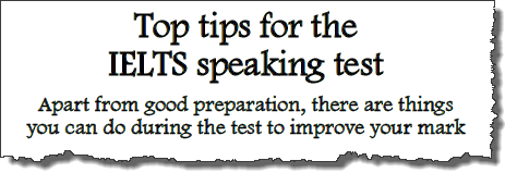 Academic writing ielts tips speaking
