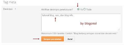 memaksimalkan blog pada search engine