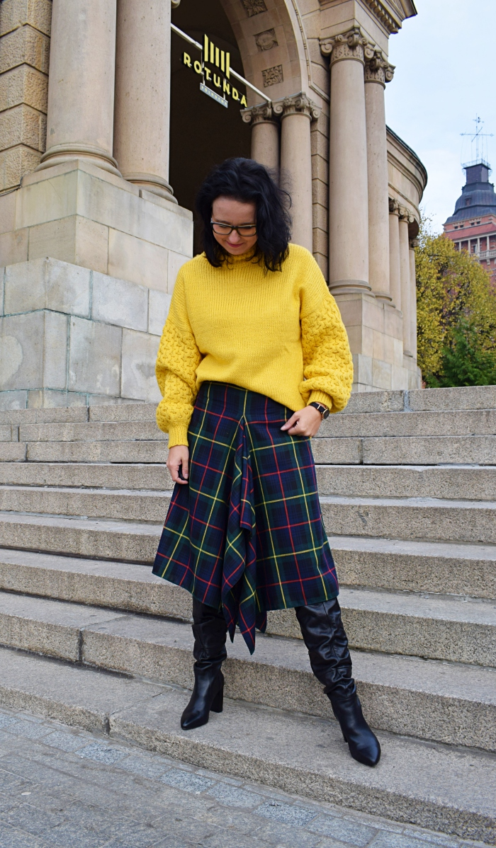 Asymetryczna spódnica trendy mody na 2018
