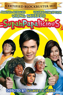 SupahPapalicious is a 2008 comedy film from Star Cinema starring Vhong Navarro, Valerie Concepcion and Makisig Morales.
