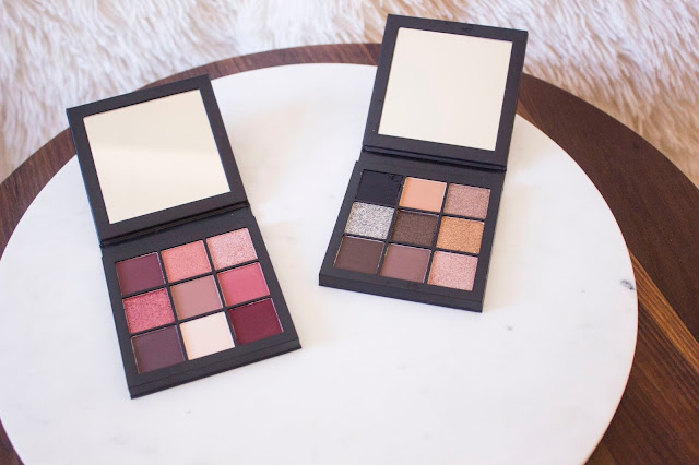 Huda Beauty Smokey Obsessions et Mauve obsessions