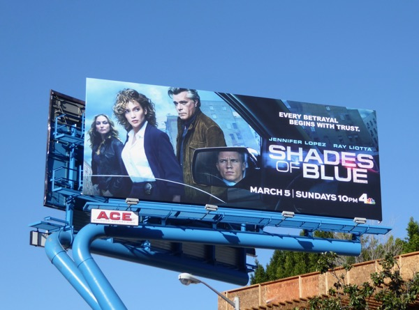 Shades of Blue season 2 billboard