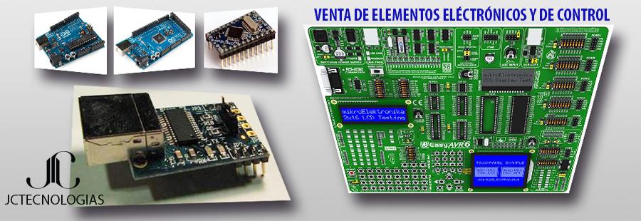 Venta de elementos electrónicos y de control