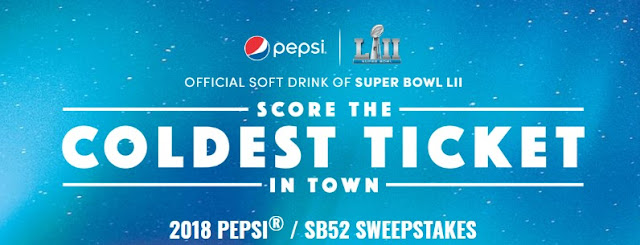 Pepsi Super Bowl 2018 Instant Win Game