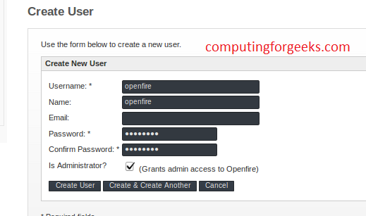openfire user