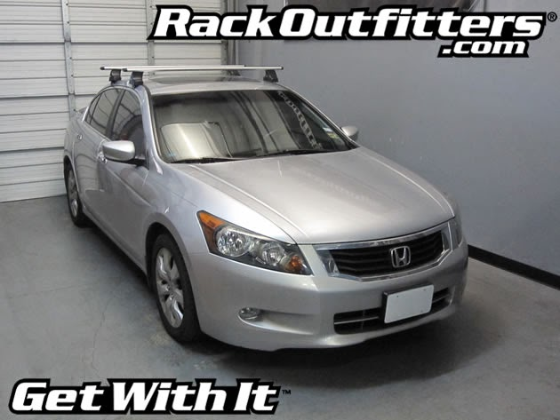 Honda Accord 4 Door Thule Rapid Traverse SILVER AeroBlade ...