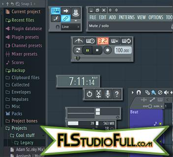 FL Studio 12 - Tudo é destacável