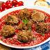Chiftelute de carne cu sos tomat