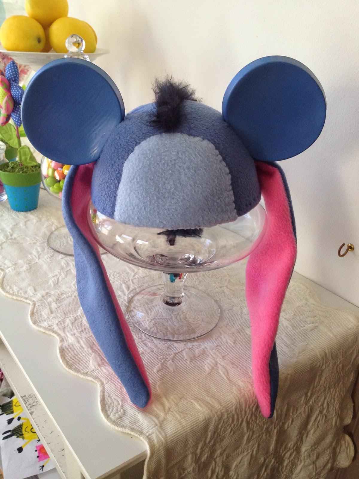 The Crafty Scarlet Raven Eeyore Ear Hat