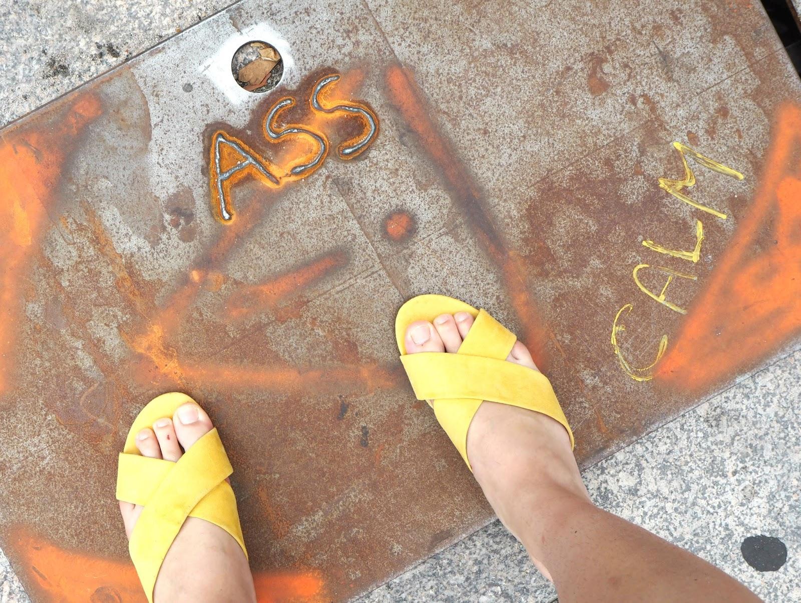 Ass graffiti