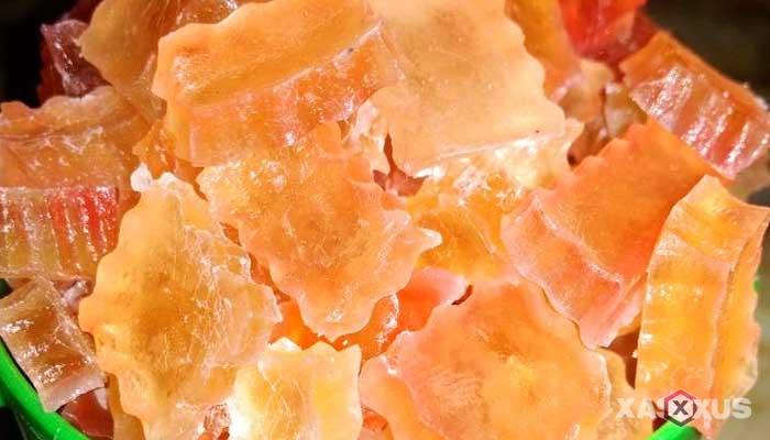 Resep cara membuat permen jelly rasa leci