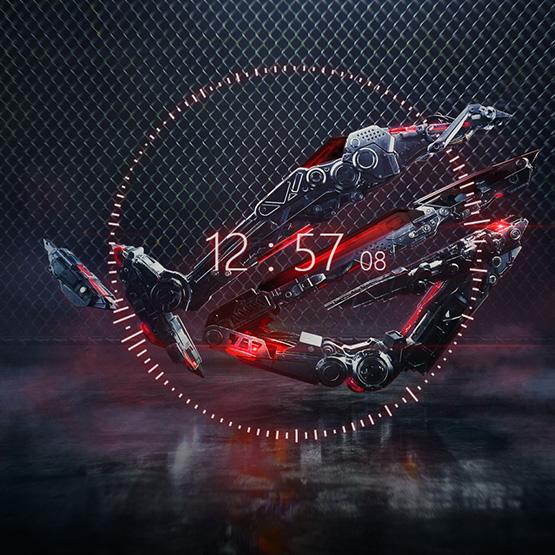 Rog Eye & Visual Effects Wallpaper Engine