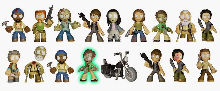 The Walking Dead Mystery Minis Blind Box Series 3 by Funko