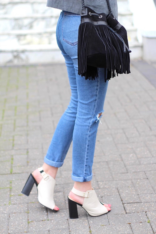 asos farleigh mom jeans mules