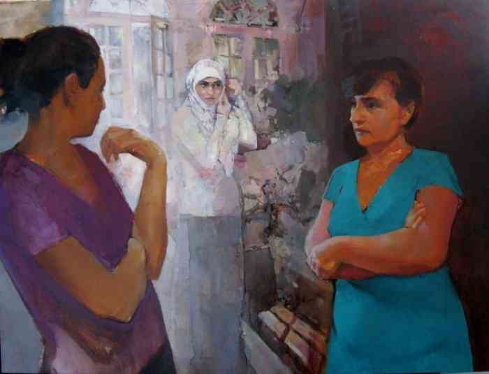 Молодая украинская художница. Viktoria Kutukova