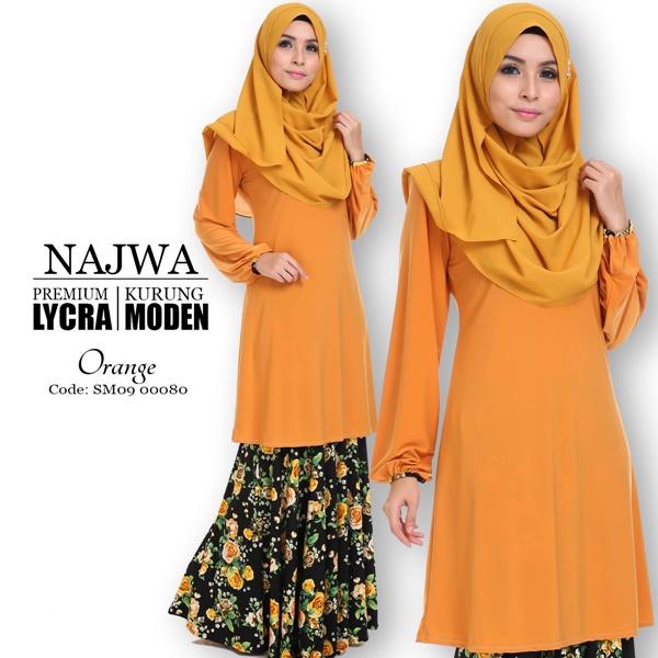 Design Terbaru Baju Kurung Moden Najwa Pilihan Wanita