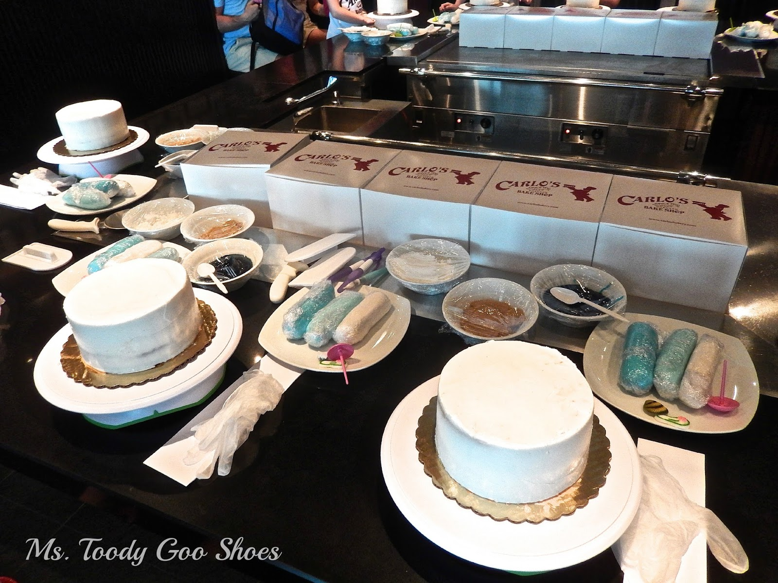 Carlo's Bake Shop Cake Decorating Class on Norwegian Breakaway Cruise Ship  --- Ms. Toody Goo Shoes