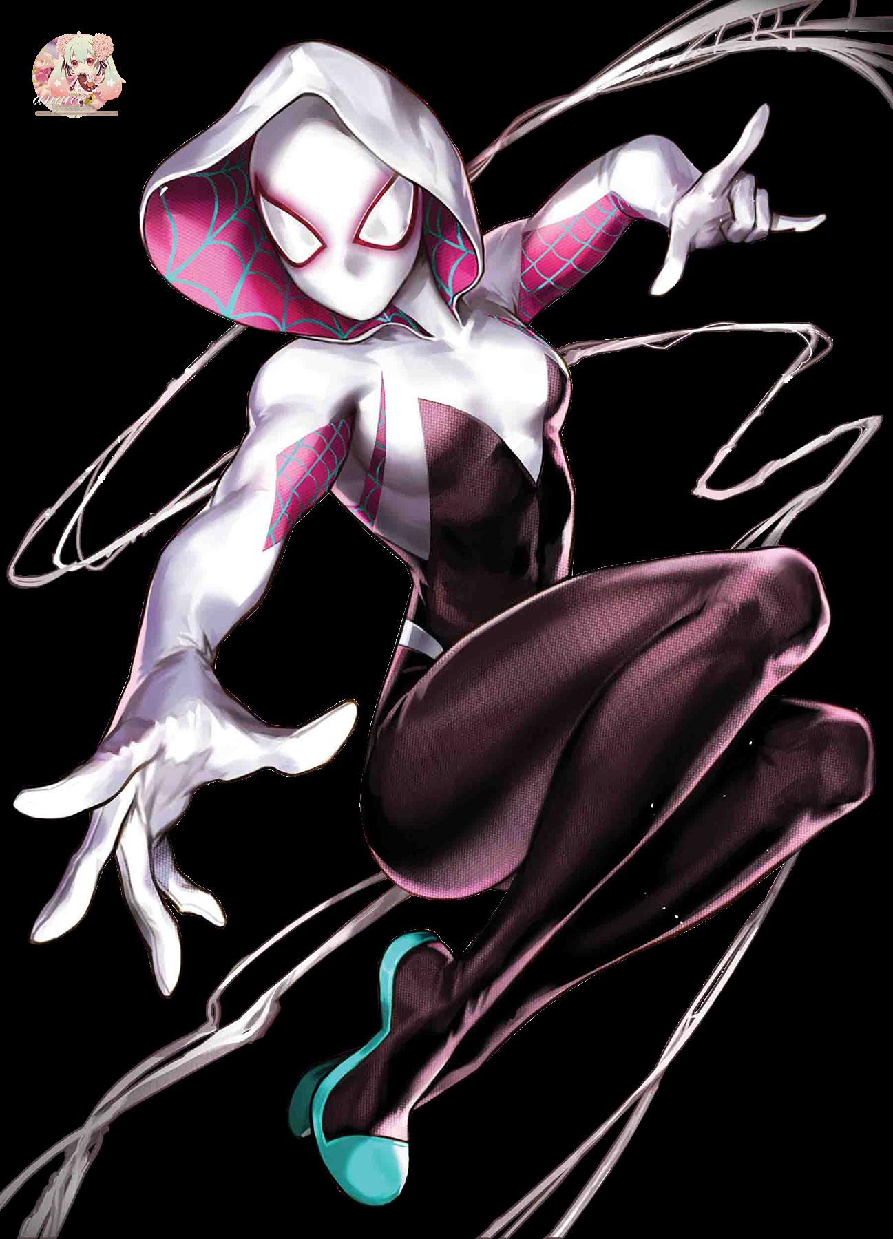 render SpiderGwen