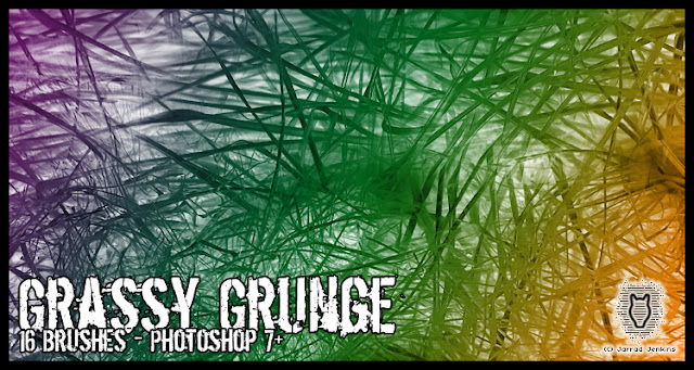Pinceles grass para photoshop
