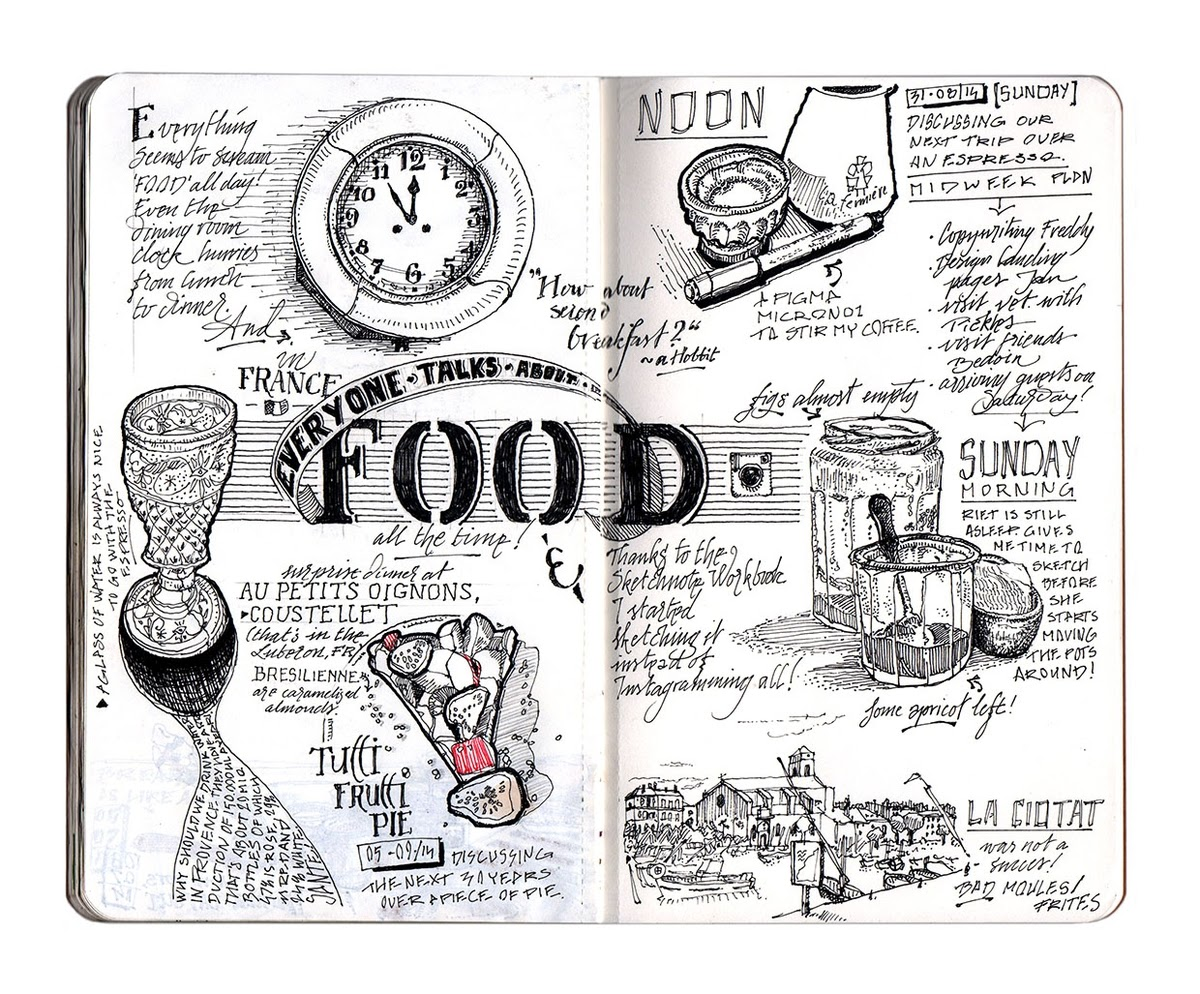 02-Food-a-sketch-note-dessinauteur-Urban-Sketches-and-Travel-Journals-on-Moleskine-www-designstack-co