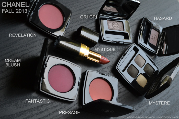 Chanel Fall 2013 Superstition Makeup Collection - Photos Swatches - Indian Darker Skin Beauty Blog