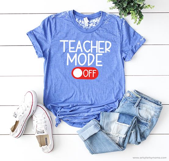 Teacher Mode Free Cut File