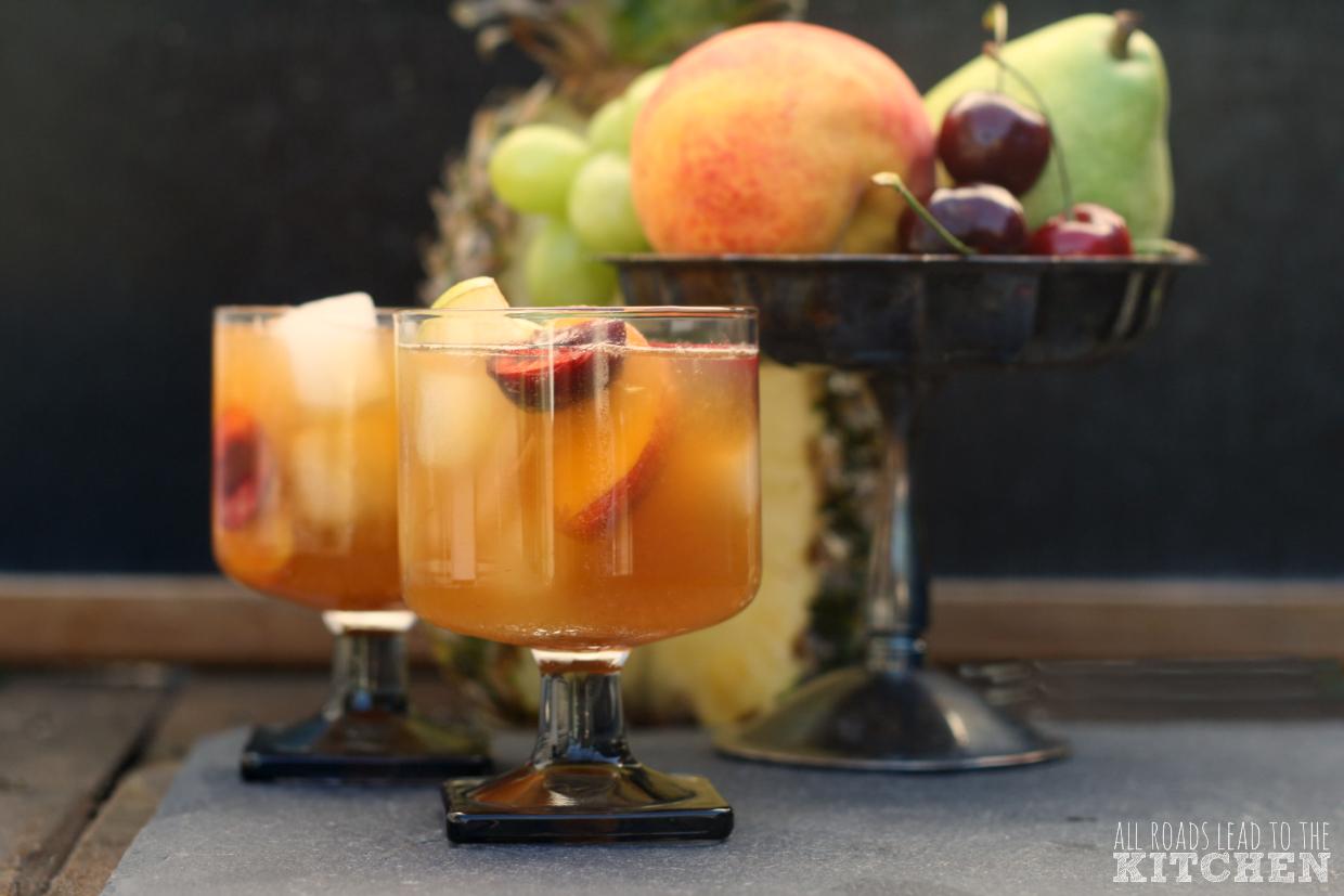 Beer Fruit Cocktail Sangria