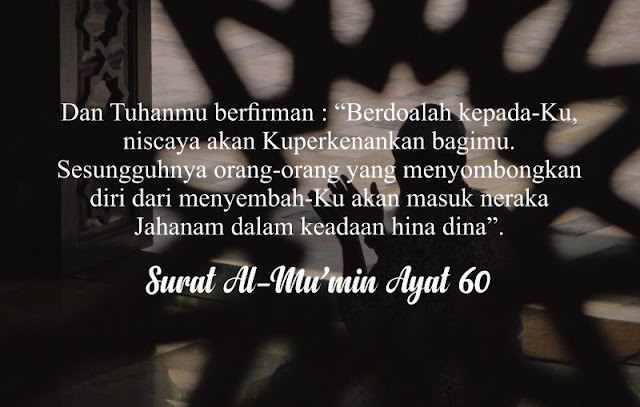 4 janji allah dalam al quran, bagi orang yang berdoa