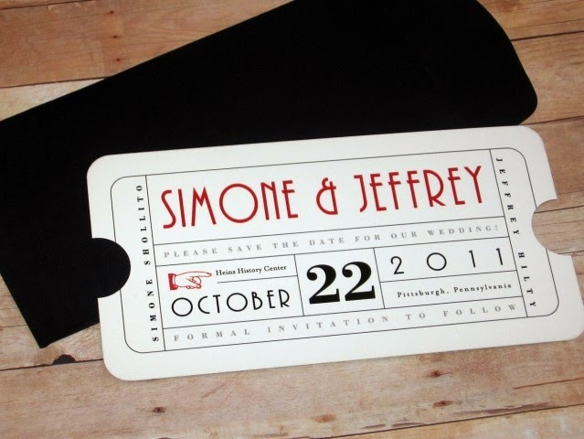 Paperchase Wedding Invitations: Beyond The Aisle: Paper Chase: Movie And Theater-inspired