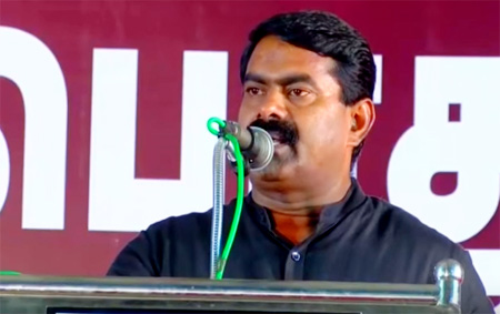 Seeman's extreme speech against Jayalalitha & Karunanidhi