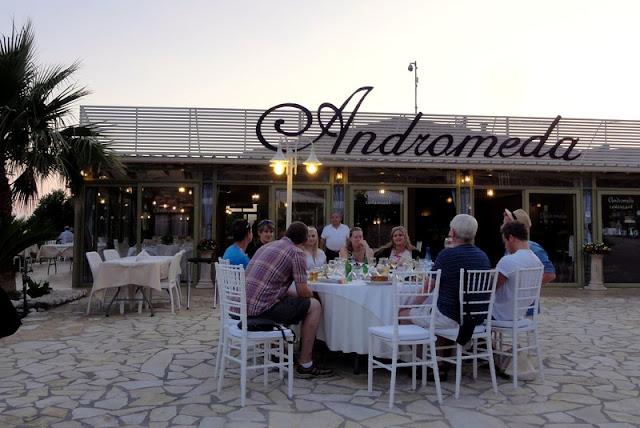 Restaurante Andromeda, Cefalônia