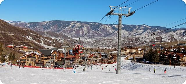 Estação de Esqui Snowmass