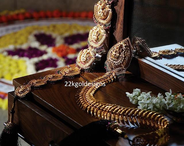 Tansihq Gold Jada or Choti Designs