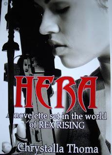 Portada del libro Hera, de Chrystalla Thoma