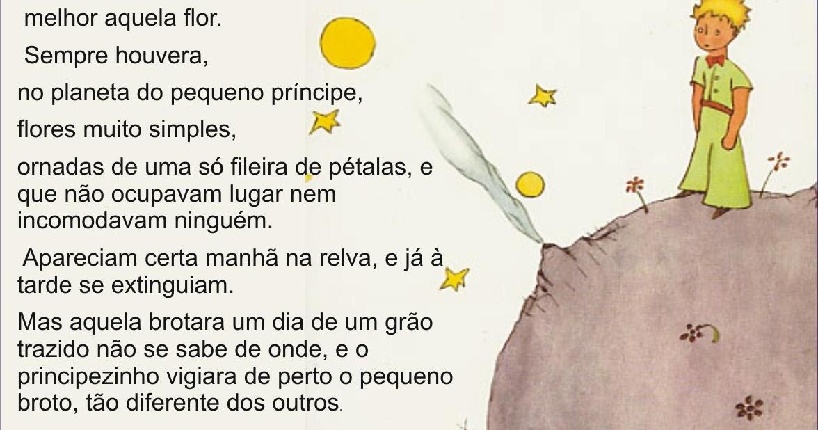 Frases Do Pequeno Principe: LIVROS ONLINE: Antoine De Saint-Exupéry