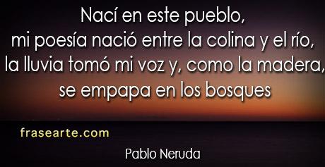 Poesías - Pablo Neruda